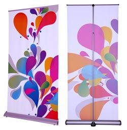 aluminum retractable banners
